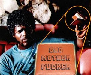 Pulp Fiction Geldbörse - Glücklich Pleite