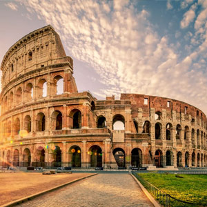 Kurz nach Rom